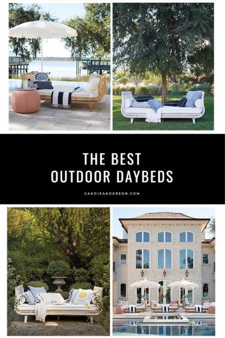 Best outdoor daybeds. Outdoor seating. Patio furniture. Serena & Lily sale! Serena & Lily 20% off sale ends today. Outdoor furniture. Trendy patio furniture. Classic, modern, wicker. ❤️ #ltkseasonal http://liketk.it/3gBWu #liketkit @liketoknow.it #LTKsalealert #LTKhome @liketoknow.it.home Shop your screenshot of this pic with the LIKEtoKNOW.it shopping app Shop my daily looks by following me on the LIKEtoKNOW.it shopping app