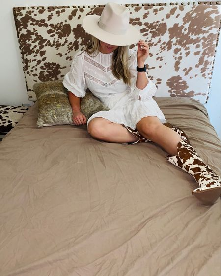 Moood🐄put on a dress to decorate my new room. Ps this dress is part of the @loveshackfancy x @target http://liketk.it/2QvHn #liketkit @liketoknow.it #LTKhome #StayHomeWithLTK #LTKshoecrush