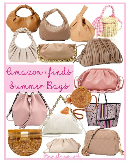 Amazon finds summer handbags and purses http://liketk.it/3ij8V #liketkit @liketoknow.it #LTKstyletip #LTKitbag #LTKunder100