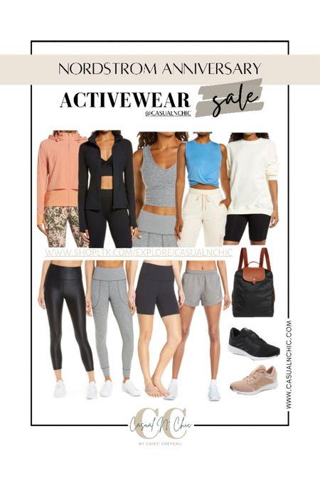 NSALE- Best Activewear from the Nordstrom Anniversary Sale   #LTKitbag #LTKfit #LTKsalealert