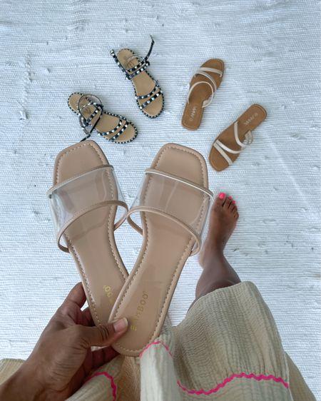 Favorite sandals starting at $8.99 😉 http://liketk.it/3iYfV @liketoknow.it #liketkit #LTKshoecrush #LTKsalealert #LTKstyletip