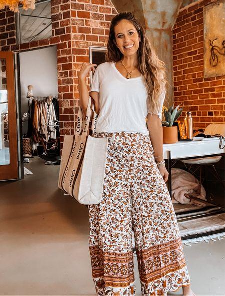 Amazon fashion, summer outfit, Nordstrom, white tshirt, tote, Chloe   #LTKSeasonal #LTKstyletip #LTKunder50