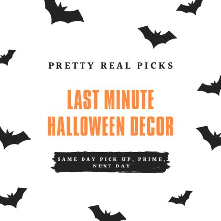 Fun and cute last minute Halloween decor- next day, 2 day shopping, prime, or same day pick up. Halloween party, Halloween dishes  #LTKSeasonal #LTKkids #LTKhome