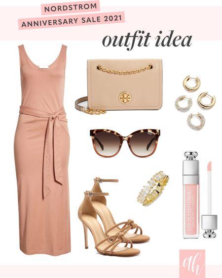 Wedding guest dress, wedding guest outfit, sunglasses, Tory Burch bag 🤍 http://liketk.it/3jUBA #liketkit @liketoknow.it #LTKsalealert #LTKunder100 #LTKshoecrush