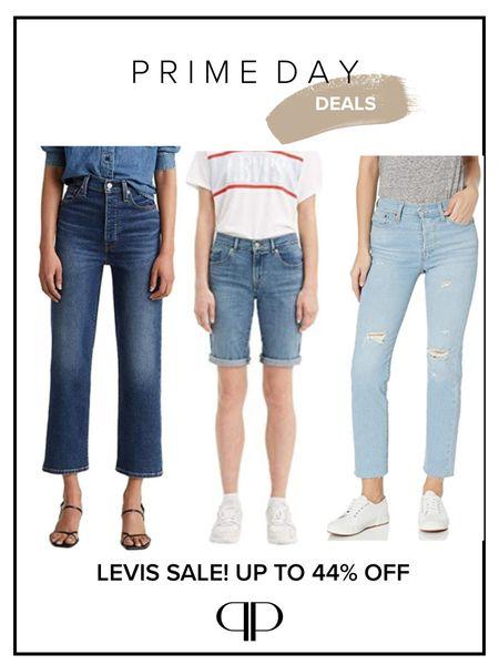 Levi's sale, denim jeans sale, Bermuda shorts   #LTKunder50 #LTKunder100 #LTKsalealert