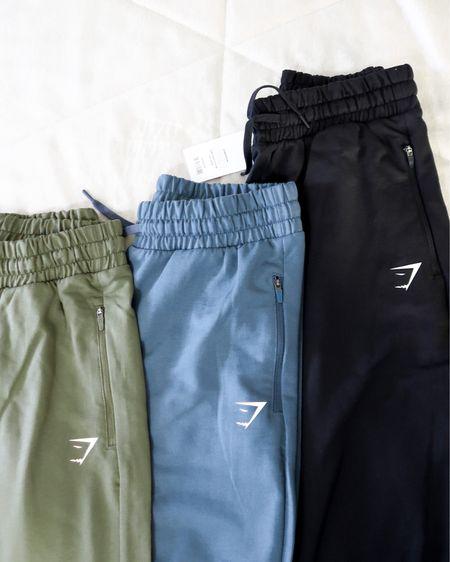 gymshark sweatpants, straight leg joggers. workout pants http://liketk.it/2YmYQ @liketoknow.it #liketkit