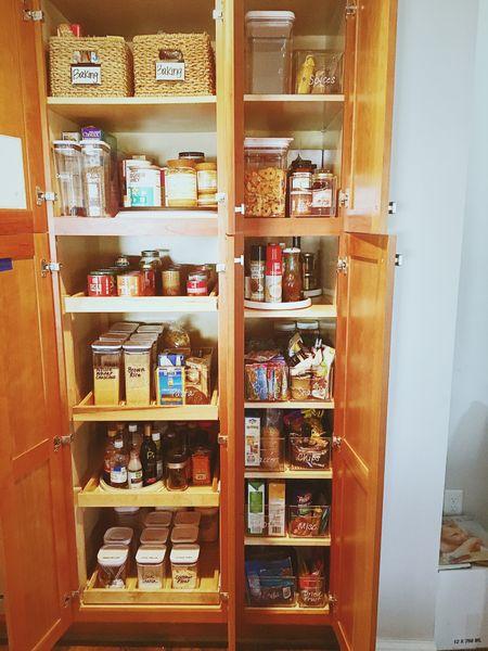Pantry organization with deep shelves ✨  #LTKunder50 #LTKunder100 #LTKhome
