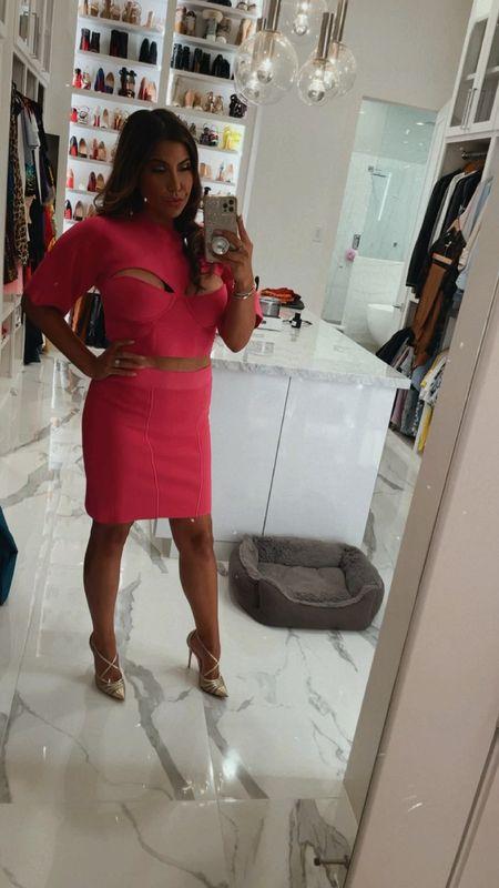 The pink set you need. 💕  #LTKstyletip #LTKSeasonal #LTKshoecrush