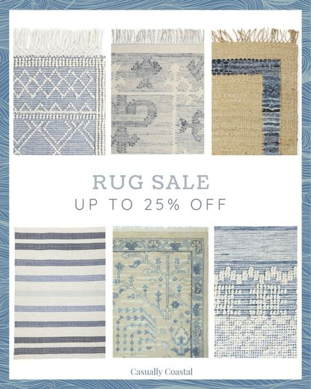 Serena & Lily is having a rug sale, and you can save up to 25% off! I've linked all of my favorites here! - coastal decor, beach house decor, beach decor, beachy decor, beach style, coastal home, coastal home decor, coastal interiors, coastal family room, living room decor, coastal decorating, coastal house decor, neutral decor, neutral home, serena & lily rugs, serena and lily rugs, living room rugs, bedroom rugs, coastal rugs, rectangle rugs, rectangular rugs, blue and white rugs, rugs with blue, 5x7 rugs, 6x9 rugs, 9x12 rugs, 11x14 rugs, 12x18 rugs, 4x6 rugs,  natural rug, natural rugs, natural rug living room, woven rugs, rugs with fringe, living room, wool rugs, living room rugs, bedroom rugs, entryway rugs, hallway rugs, large rugs, small rugs, woven rugs, cream rugs, textured rugs, neutral rugs, coastal runners, serena & lily runners, high-quality rugs, beach house rugs, Coastal rugs, kitchen runners, striped rugs, striped runners, neutral runners, rugs on sale  #LTKhome #LTKsalealert #LTKfamily