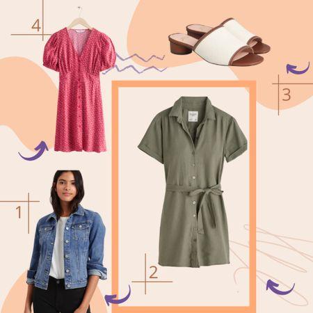 Easy Summer Dress Look   #LTKSeasonal #LTKstyletip #LTKsalealert