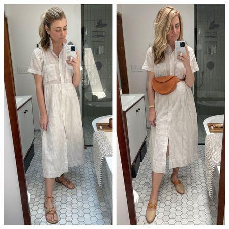 Two ways I've styled this Free Assembly dress from @walmartfashion #ad #liketkit http://liketk.it/3iX92 @liketoknow.it