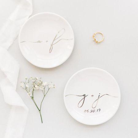 Beautiful ring dish by WillowLaneCollective 🌿  http://liketk.it/3j8vA @liketoknow.it #liketkit #LTKwedding #LTKunder50 #LTKhome