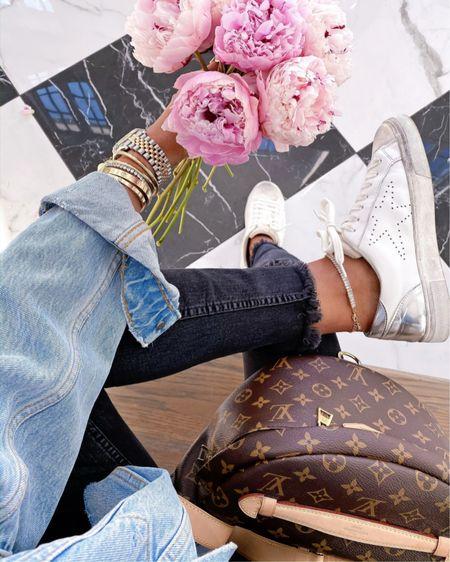 http://liketk.it/3gK2T #liketkit @liketoknow.it Steve Madden, fashion sneakers, gold jewelry, work style, Emily Ann Gemma