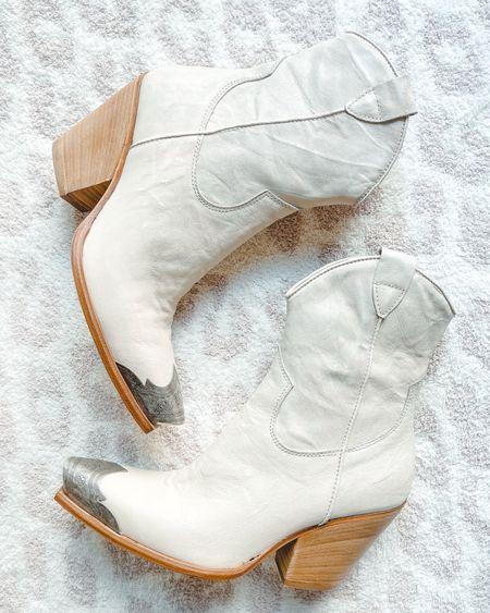 Free people brayden western boots. Runs true to size     #LTKtravel #LTKshoecrush #LTKstyletip