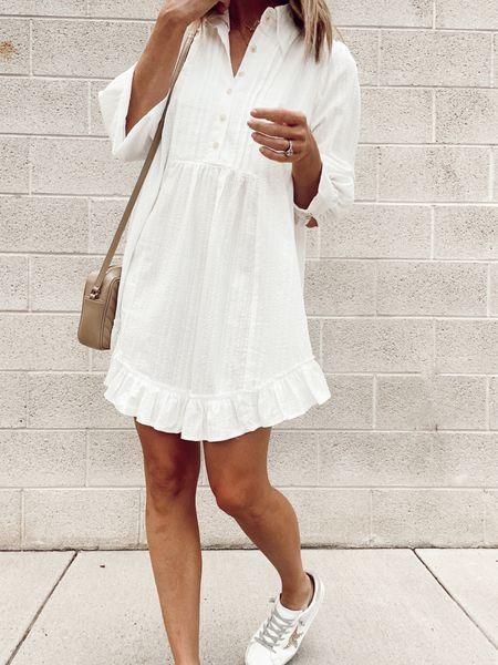 white dress, summer dress  #LTKstyletip