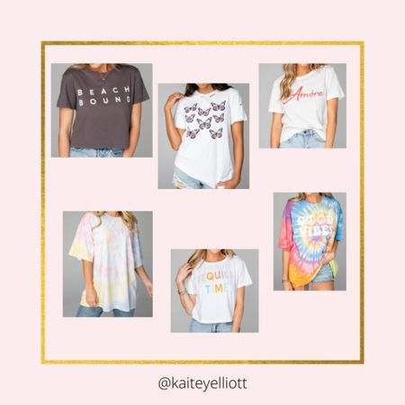 These graphic tees are so cute!! Shop your screenshot of this pic with the LIKEtoKNOW.it shopping app @liketoknow.it.home @liketoknow.it.family @liketoknow.it #liketkit #LTKSpringSale #LTKsalealert #LTKunder100 http://liketk.it/3cwer