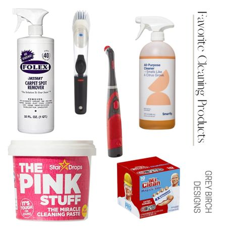 Some of my favorite cleaning products #cleaningtips #cleaning  #LTKunder100 #LTKunder50 #LTKhome