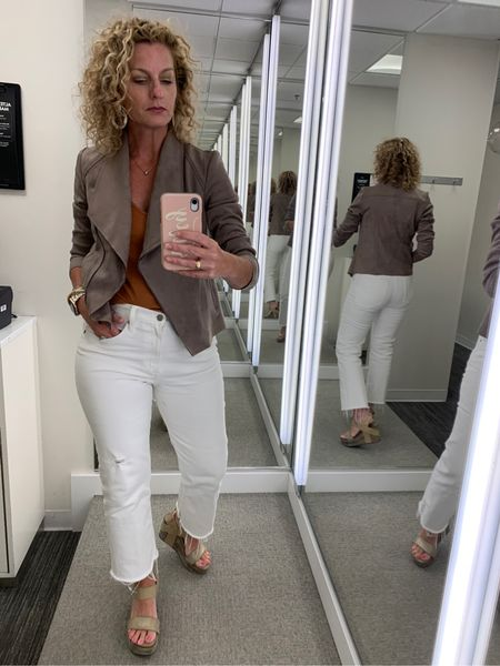 This jacket guys! We LOVE this piece from the #nsale! Such a great lightweight layer for fall! http://liketk.it/3k13h @liketoknow.it    #liketkit #LTKunder100 #LTKsalealert #LTKstyletip