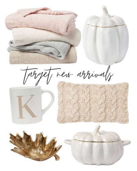 New arrivals for fall from target 🤍🤍   Fall decor, mugs, thanksgiving, fall kitchen, barefoot dreams dupe, cozy  #LTKunder50 #LTKhome #LTKunder100