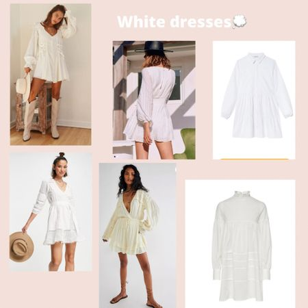 White dresses 💭  #LTKstyletip #LTKeurope #LTKSeasonal