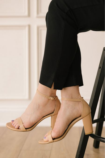 You and the nude shoe become one. I love the subtle statement a nude shoe makes...especially pairing with a dark pant or trouser.   #LTKstyletip #LTKshoecrush #LTKworkwear