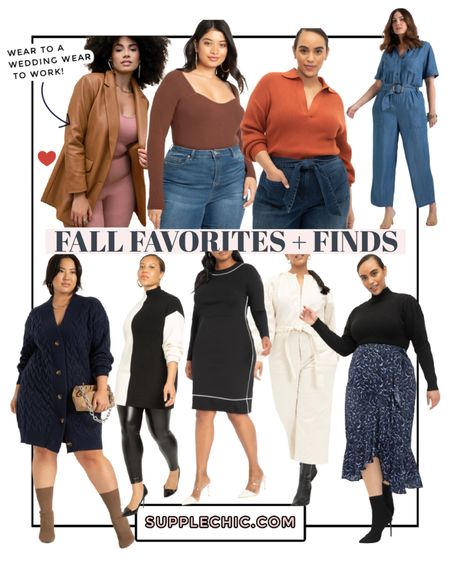 For favorites plus fines from Eloquii End Walmart #PlusSize leather blazer  #LTKcurves #LTKunder100 #LTKbacktoschool