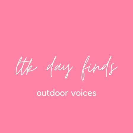 outdoor voices sale! 20% off $100+  #LTKunder50 #LTKDay #LTKunder100