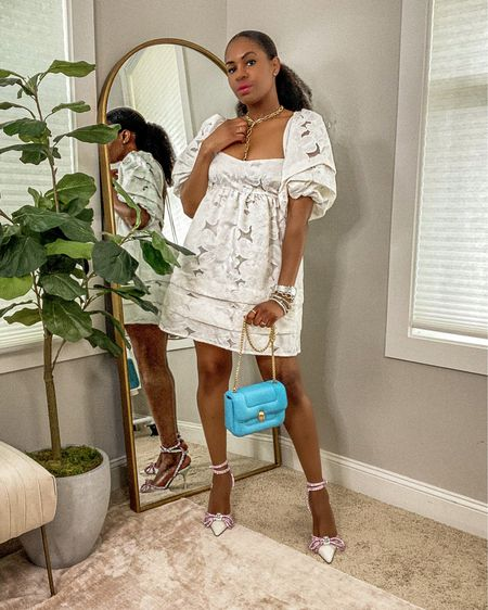 It's the dress for me! And the shoes too! I have a new video going live today at 1:45pm! This video argues why white dresses are the most important dress for summer, why you need a white dress and 10ways to style white dresses for summer 2021!  So, set you alarms and let's  watch together!  Shop this amazing white mini dress on the blog or via @liketoknow.it http://liketk.it/3hk94 #liketkit #LTKstyletip #LTKDay #LTKhome