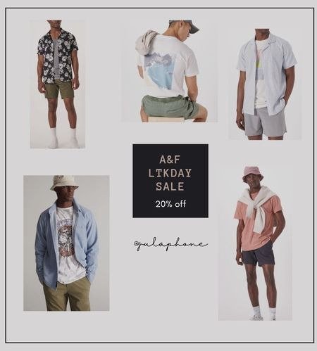 A&F Mens: Summer looks.    http://liketk.it/3hA4u #liketkit @liketoknow.it #LTKunder100 #LTKstyletip #LTKmens