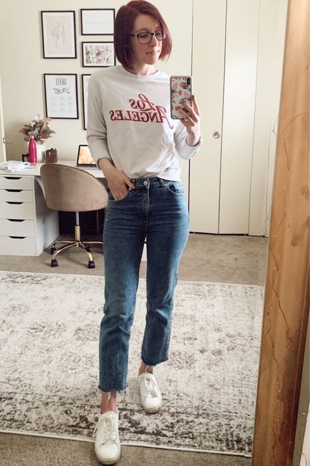 """It's casual Friday around the home office and yet I'm more """"dressed up"""" than usual 🙈 http://liketk.it/3cvhi @liketoknow.it #liketkit #LTKunder50 #LTKstyletip"""