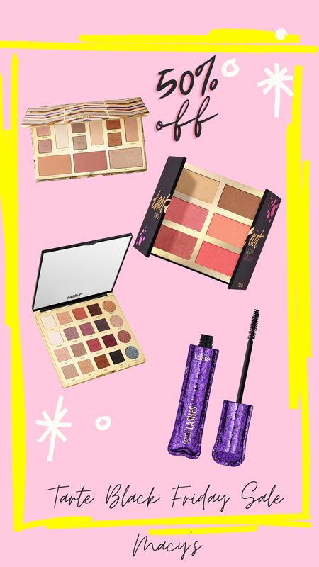Black Friday super sale @Macy's. Tarte palettes, mascara and other makeup essentials are 50%off.   http://liketk.it/31JU1  🎁 Screenshot or 'like' this pic to shop the product details from the LIKEtoKNOW.it app, available now from the App Store!  🎁 Shop your screenshot of this pic with the LIKEtoKNOW.it app  🎁 Download the LIKEtoKNOW.it app to shop this pic via screenshot   @liketoknow.it #liketkit