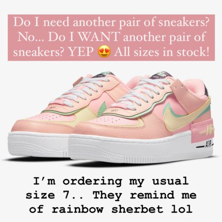 Nike Air Force 1 Shadow Arctic Punch/Barely Volt.. I wear my usual size 7!!  http://liketk.it/3gJHP @liketoknow.it #liketkit #LTKshoecrush