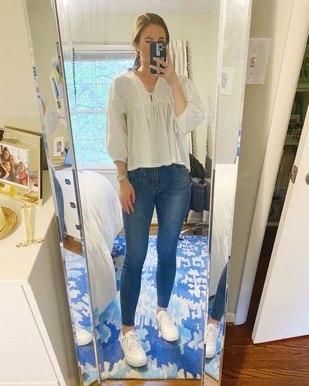 Friday's work outfit of the day featuring my new favorite scalloped sneakers! @liketoknow.it #liketkit #LTKunder50 #LTKunder100 http://liketk.it/3d6dM