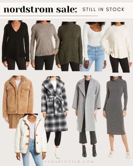 Nordstrom anniversary sale: coats, jackets and sweaters that are in stock and on sale!   #LTKunder100 #LTKsalealert #LTKstyletip
