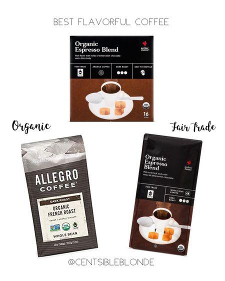 Best flavorful coffee, organic and fair trade coffee  http://liketk.it/2UEtX #liketkit @liketoknow.it #StayHomeWithLTK #LTKhome #LTKunder50