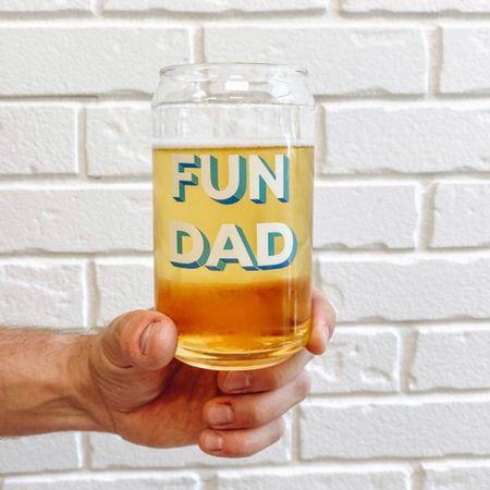 Father's Day, Father's Day gift, gift for him, fun Father's Day gift, beer glass, beer glasses, shop small  @liketoknow.it http://liketk.it/3hcv7 #liketkit   #LTKhome #LTKmens #LTKunder50