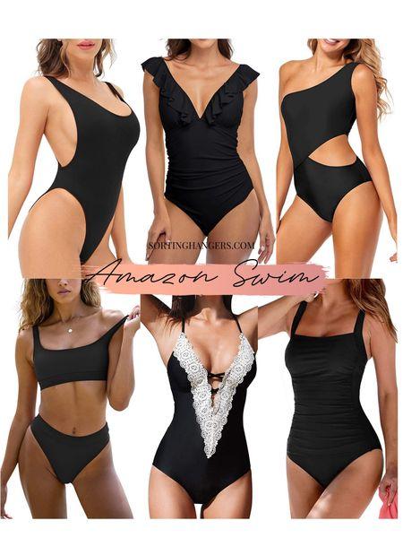 Amazon Swimsuits under $40    #LTKswim #LTKstyletip #LTKunder50