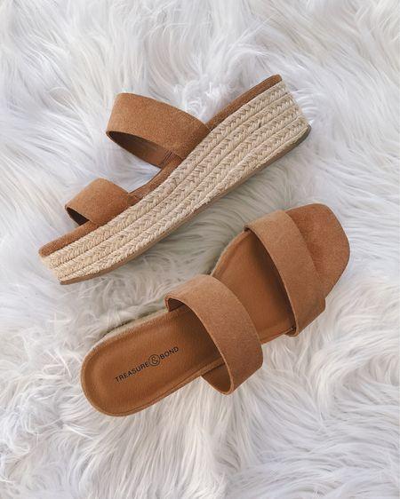Summer shoes, summer sandals, slide sandals, strappy sandals, espadrilles, flatforms, mule sandals, neutral sandals, Target finds, Nordstrom sale.  @liketoknow.it http://liketk.it/3hE1C #liketkit   #LTKunder50 #LTKshoecrush #LTKsalealert