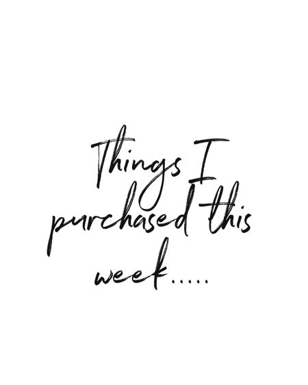This weeks shopping cart... http://liketk.it/2Y0mC #liketkit @liketoknow.it #LTKsalealert #LTKunder100 #LTKbeauty @liketoknow.it.home @liketoknow.it.family Shop your screenshot of this pic with the LIKEtoKNOW.it shopping app