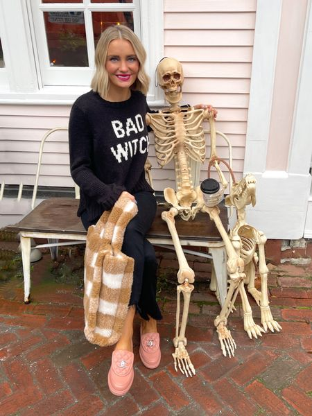 """You coulda had a Bad Witch 🧙 the man working the door at our hotel said """"hehehe what makes you the bad witch?!"""" And I really wanted to say, """"Well, Bob, if I told you I'd have to kill you"""" 🤣🤣🤣🤣☠️  #LTKSeasonal #LTKunder100 #LTKunder50"""