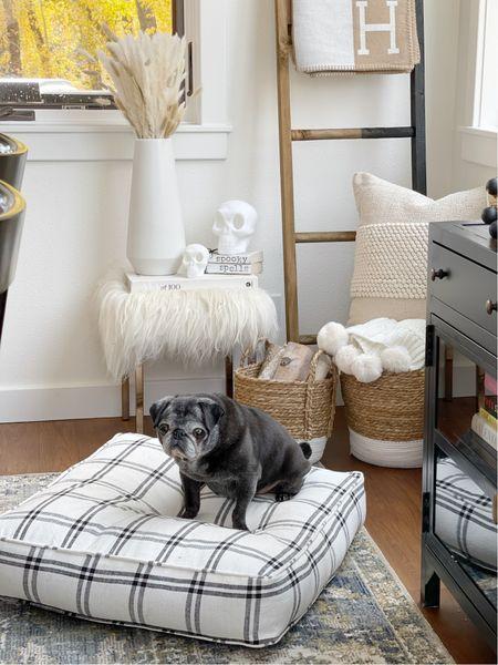 H O M E \ Cozy house corners with a side of B🐾🐾  #homedecor #livingroom #walmart #walmarthome #walmartfind #halloween #halloweendecor #falldecor  #LTKhome #LTKunder50 #LTKSeasonal
