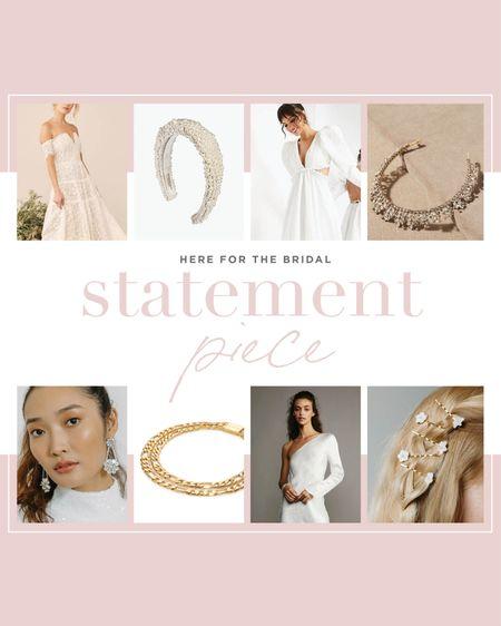 Be prepared to make a bridal STATEMENT with these gorgeous accessories!   #LTKstyletip #LTKwedding