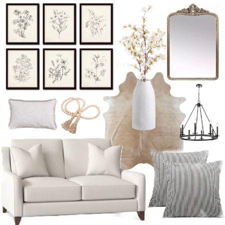 Home Decor. #homedecor #interior #home #decor #modern #chic #trendy #loveseat #wallframes #mirrors #animalprintrug @liketoknow.it #liketkit http://liketk.it/3haTS #LTKDay #LTKhome #LTKfamily