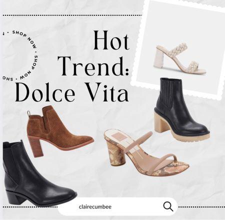 Dolcevita fall heels Sorority rush Boots Fall Back to school Basics Trend Must-have  #LTKshoecrush #LTKworkwear #LTKbacktoschool
