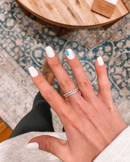 DIY nails - so quick and easy!! Target finds , target home decor , living room rug , area rug , stick on nails , press on nails, target beauty target must haves #LTKunder50 #LTKunder100 #LTKbeauty http://liketk.it/3cngB #liketkit @liketoknow.it