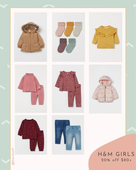 20% off + free shipping if you spend $80 at H&M  #LTKfamily #LTKkids