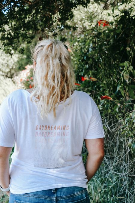 Daydreaming. Love this ultra soft loose fitting tee. You can choose to have the Daydreaming on the front or back!   Get 15% off with my code: RBC-lauraadney   #redbubble #competition   #LTKunder50 #LTKSeasonal #LTKstyletip