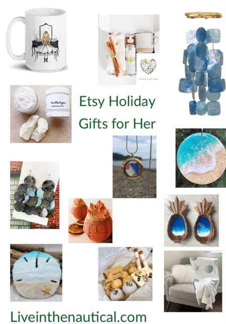 That time of year! Here are my gift guides for those special people in your life! I love shopping small and Etsy has some of my favorite small businesses to shop from. Rounding up gifts for her.    #LTKGiftGuide #LTKHoliday #LTKSeasonal