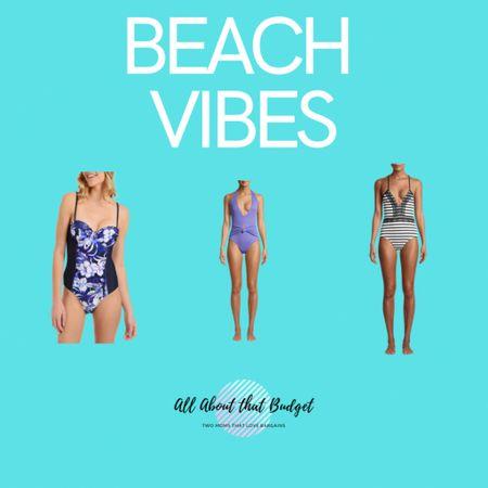 One-piece swimsuits on sale!! As low as $5.00!!!  http://liketk.it/3fFhF #liketkit @liketoknow.it #LTKunder50 #LTKswim