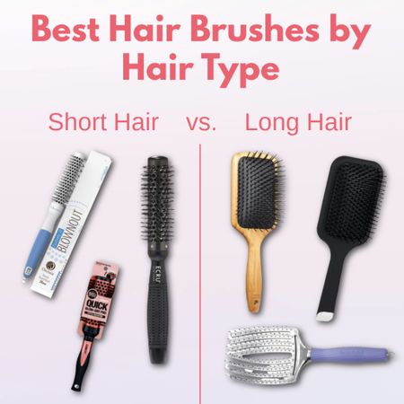 New blog post on theimportant-things.com on what type of hair brush you should be using for your hair type! Long hair vs. short hair suggestions🥰   #LTKbeauty #LTKunder100 #LTKunder50